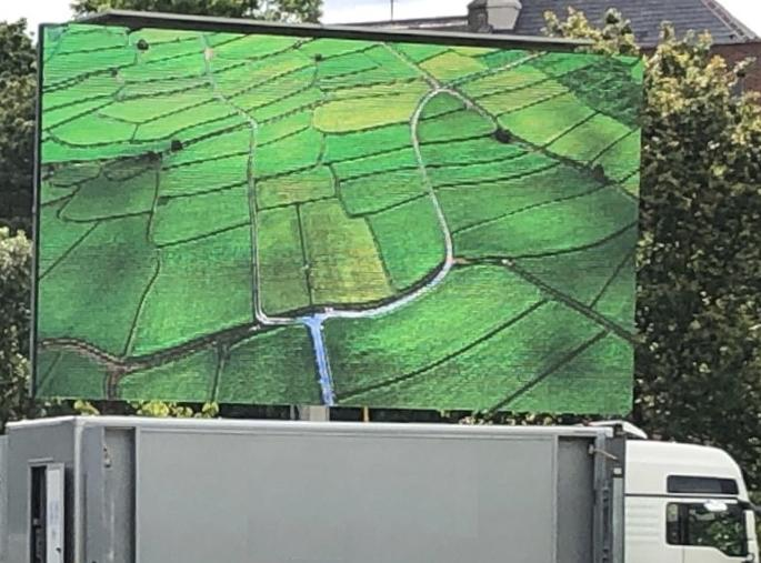 9m X  5m Container Truck Screen