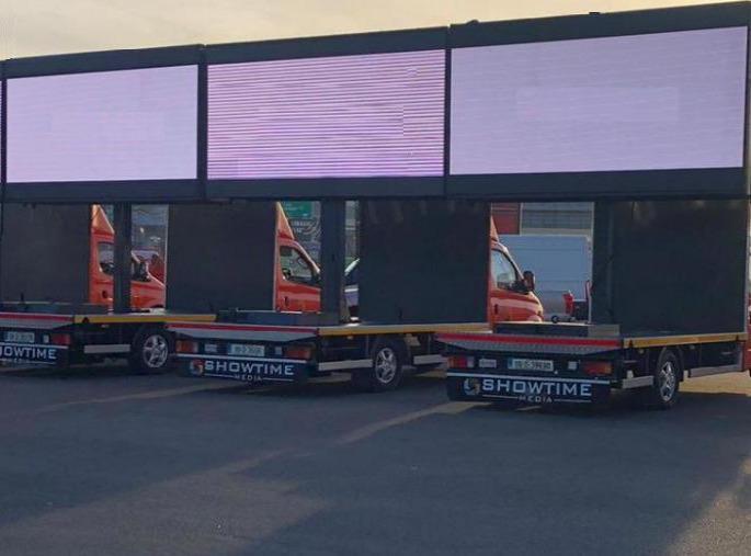 3.5m X 2m Transit Screens